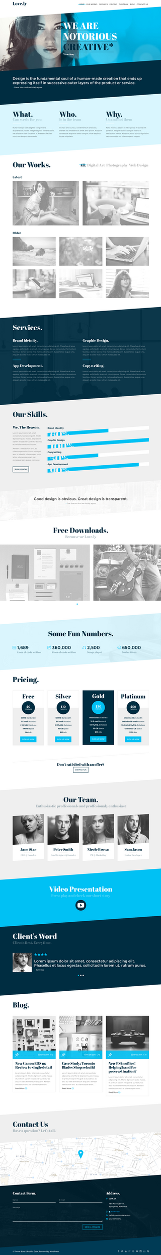Lovely - Multi page WordPress theme 2014-08-05 09- by wpthemes