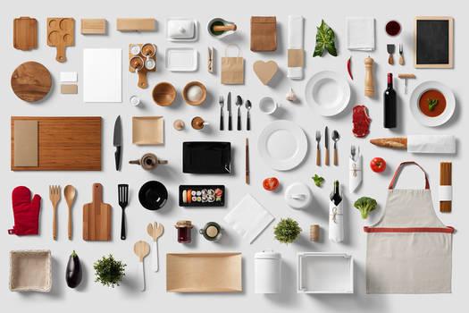 Restaurant / Food - Branding Mock-Up