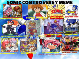Sonic Controversy :MEME: by SkylarTourai