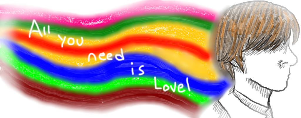 :All You Need is Love: by DashieTourai