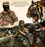 EZLN y el Subcomandante Marcos by mercenario1945