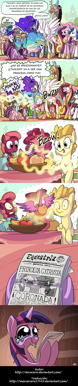 Twiligth Sparkel la nueva princesa de Equestria by mercenario1945