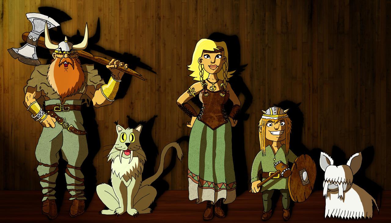 viking family by c0rr0si0n on DeviantArt