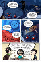 Scorpion Encounter by montiray