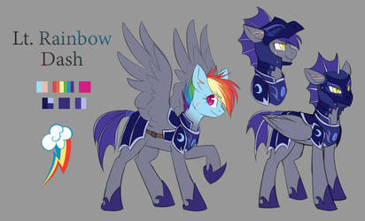 Lt. Rainbow Dash