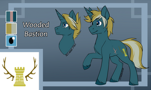 Ref Sheet Commission: Wooded Bastion