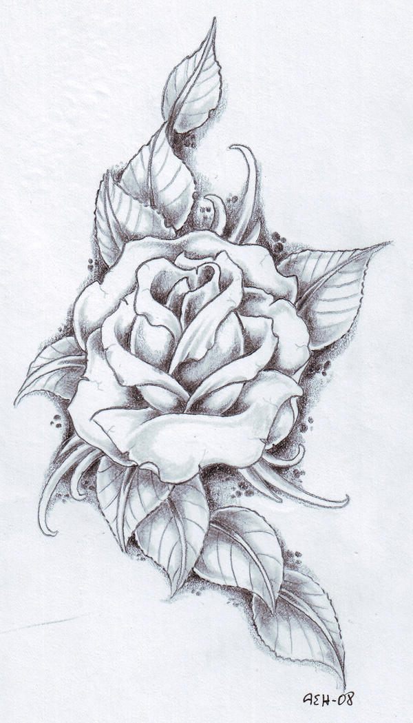 Rose Tattoo Design Picture 3