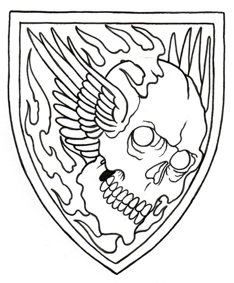 Skull Tattoo Outlines