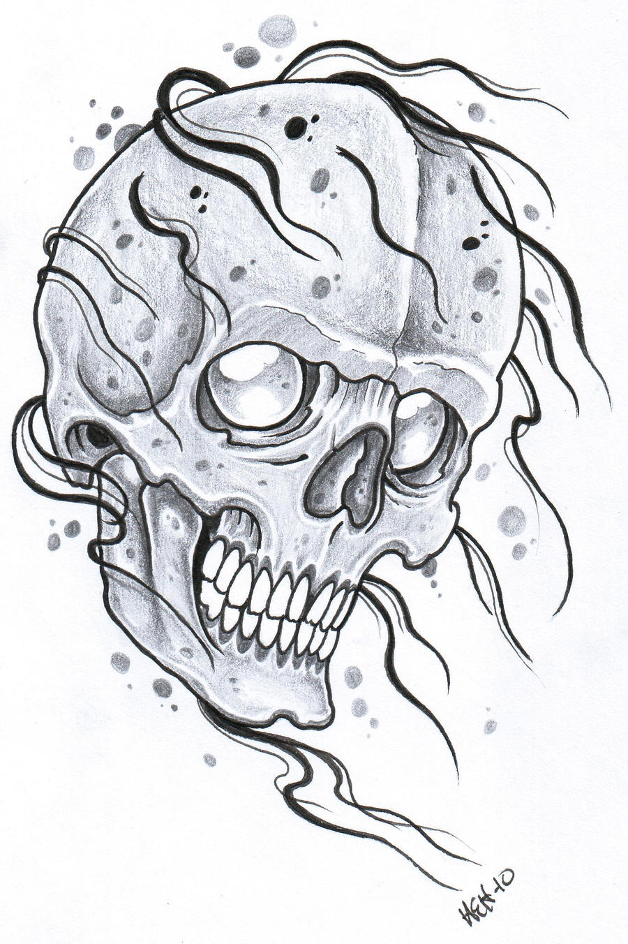 Evil Tattoo Flash 2012