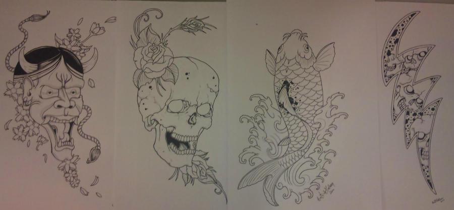 Tattoo Netral Tattoo Line Art