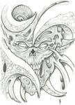 Bioorganic Skull Tattoo 1