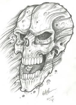 Crappy Skull Sketch
