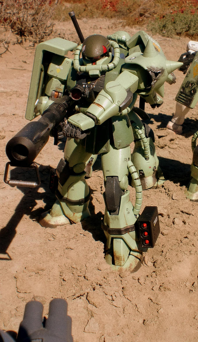 ZAKU 2.0 v3 HEAVY WEAPONS by ChihayaCake