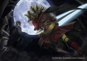 Lancelot VS Tristan by CHIVALRY-ES