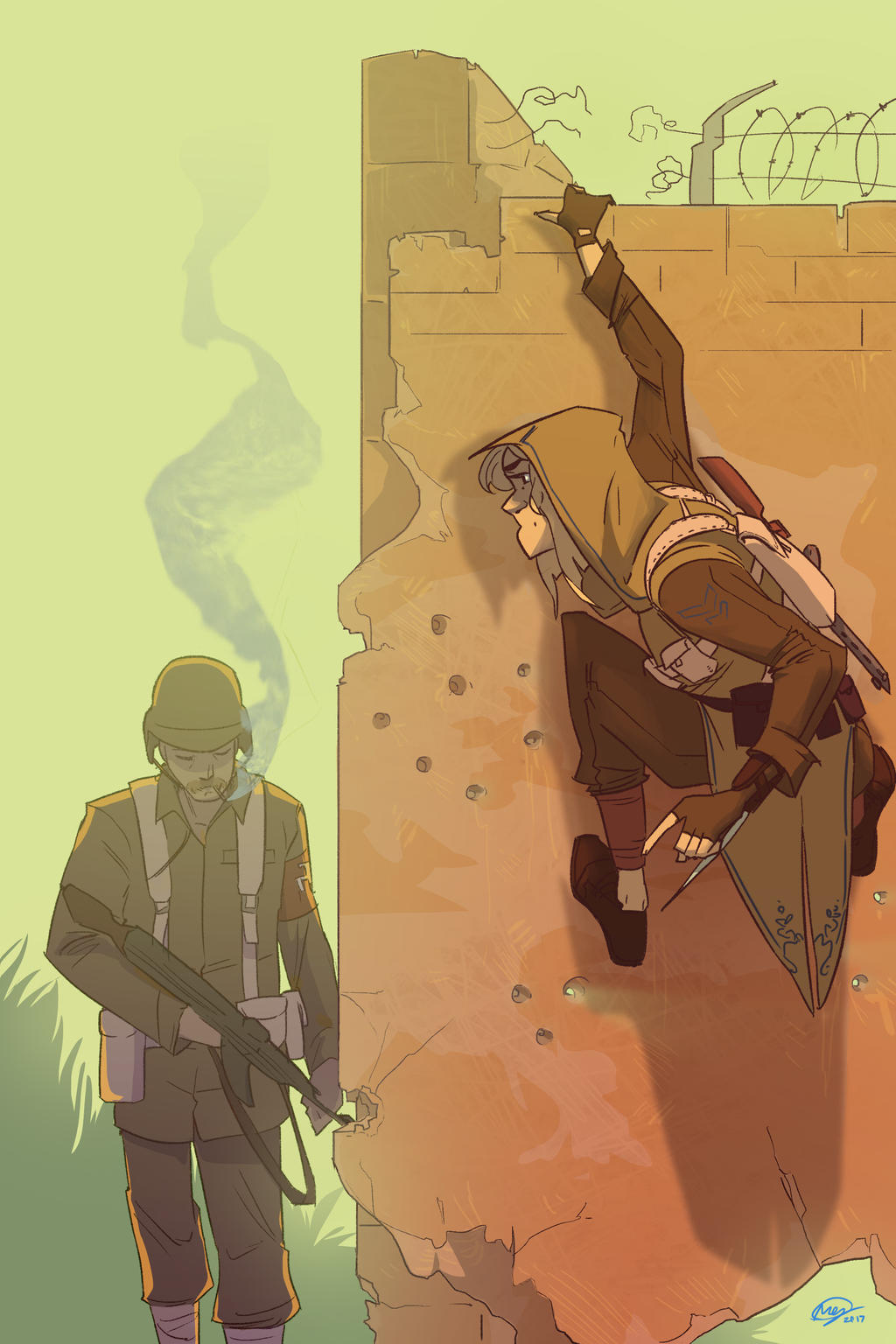 Assassin S Creed Ww2 By Mikabear1 On Deviantart