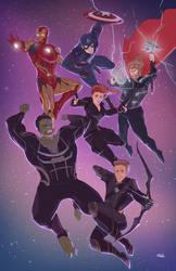 Avengers Endgame by mikabear1