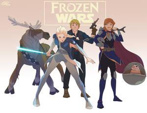 Frozen Wars - soc media: @meganhuang5