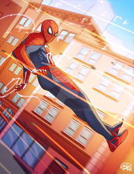 Spidey - advanced suit