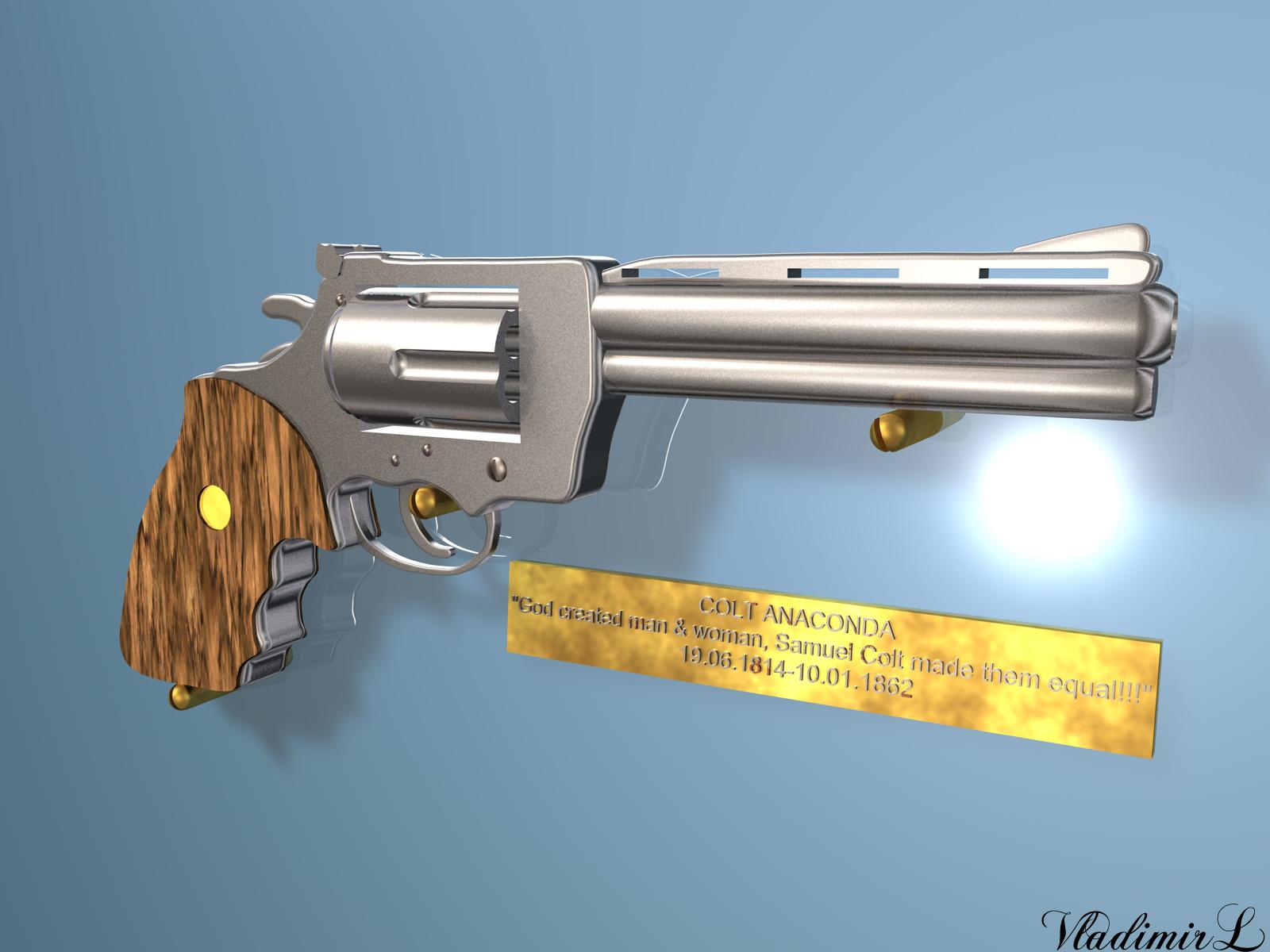 Colt Anaconda by VladimirL on DeviantArt