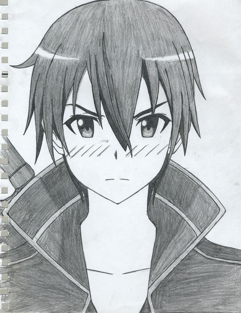 Kirito Sword Art Online By Tsurakuunai On Deviantart