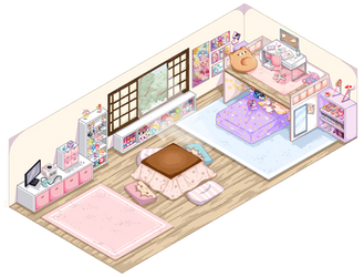Dainty Prompt: Mason's Room by octisqueesh