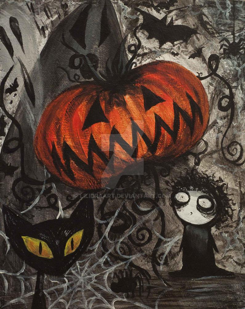 Halloween Rapsody by LilidraArt
