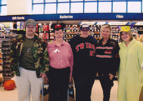 My coworkers and I - Halloween