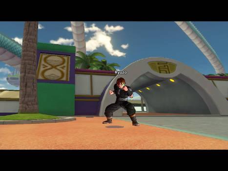 My Dragonball Xenoverse character: Ryuzo
