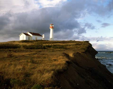 Light House, Point Acconie NS by Arribl4