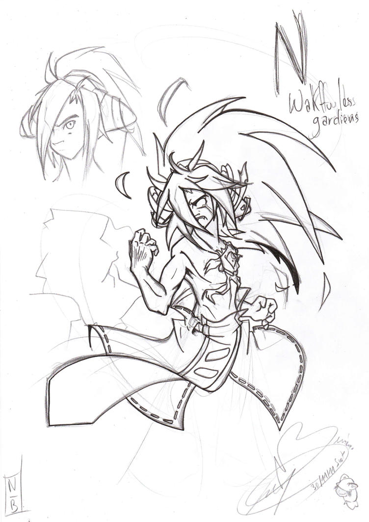 comment dessiner un personnage wakfu