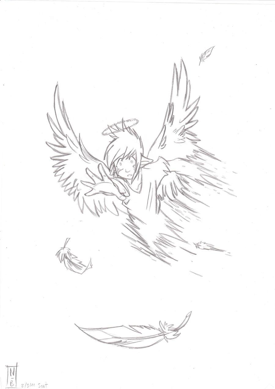 Ange gardien manga dessin dessin de manga - Dessin d ange gardien ...