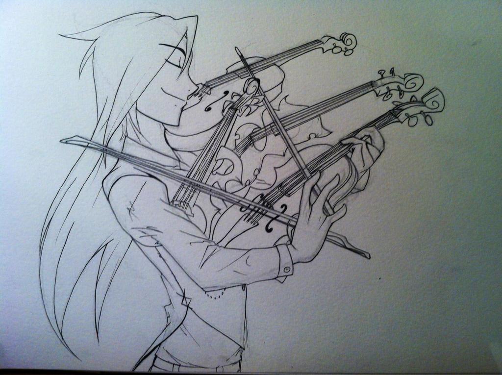 Oscar - Violinist by KangooNoh