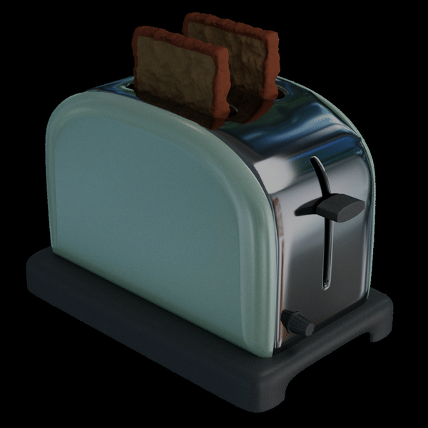 Toaster by julio-lupin-jr