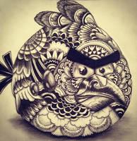 ANGRY BIRD by HannahLouiseBailey