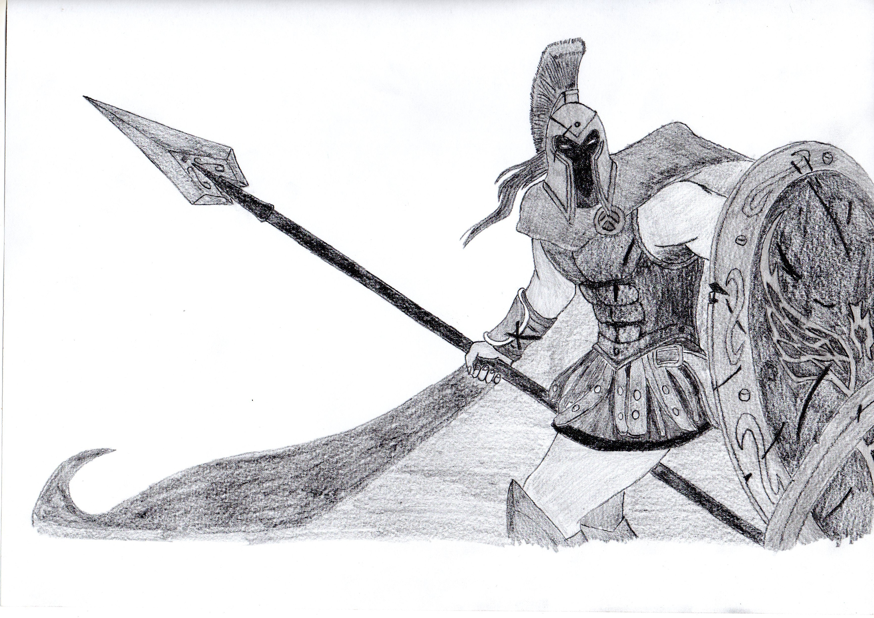 Line Art Xl 2012 : Pantheon the artisan of war by origamisxl on deviantart