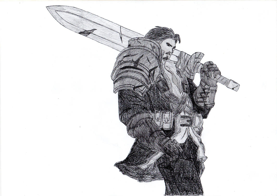 Line Art Xl 2012 : Garen the might of demacia rugged edition by origamisxl on deviantart