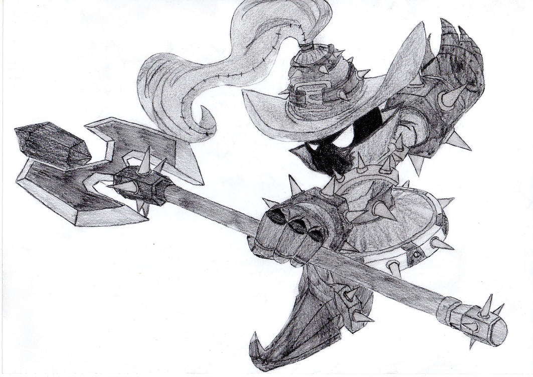 Line Art Xl 2012 : Veigar the tiny master of evil white mage edition by origamisxl