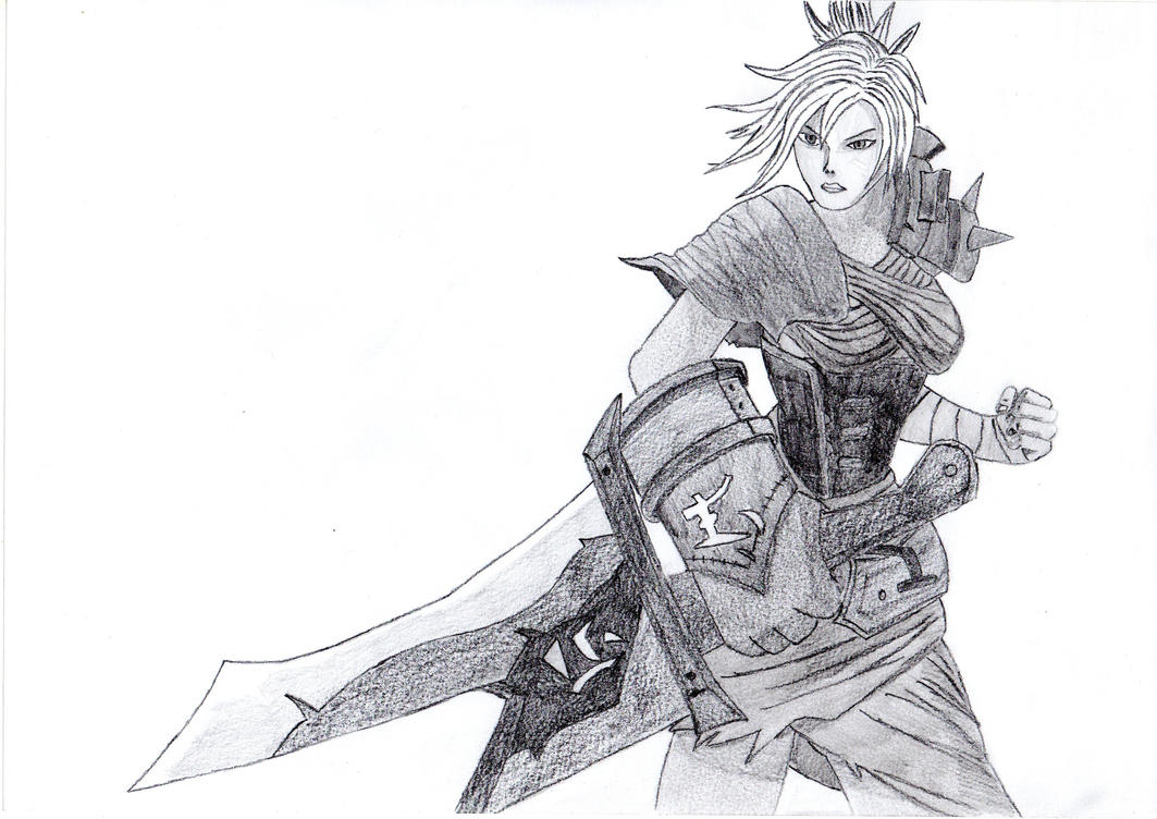 Line Art Xl 2012 : Riven the exile by origamisxl on deviantart