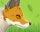 Pixel Fox by LittleWoodlouse