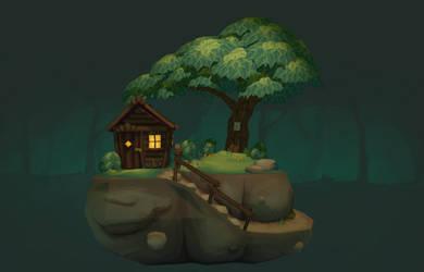 Woodlouse Woods - Sketchfab Link in Desc. by LittleWoodlouse