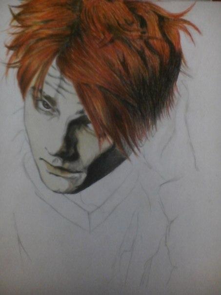 Gerard Way. by BadassBeetlejuice