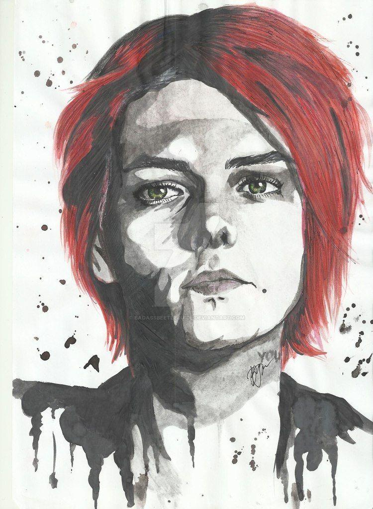 Gerard Way by BadassBeetlejuice