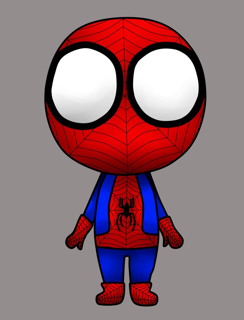 Spiderman chibi wallpaper
