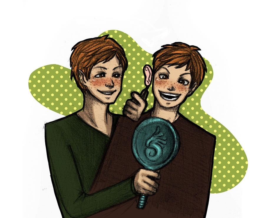 Commish - Fred and George by Murraycita