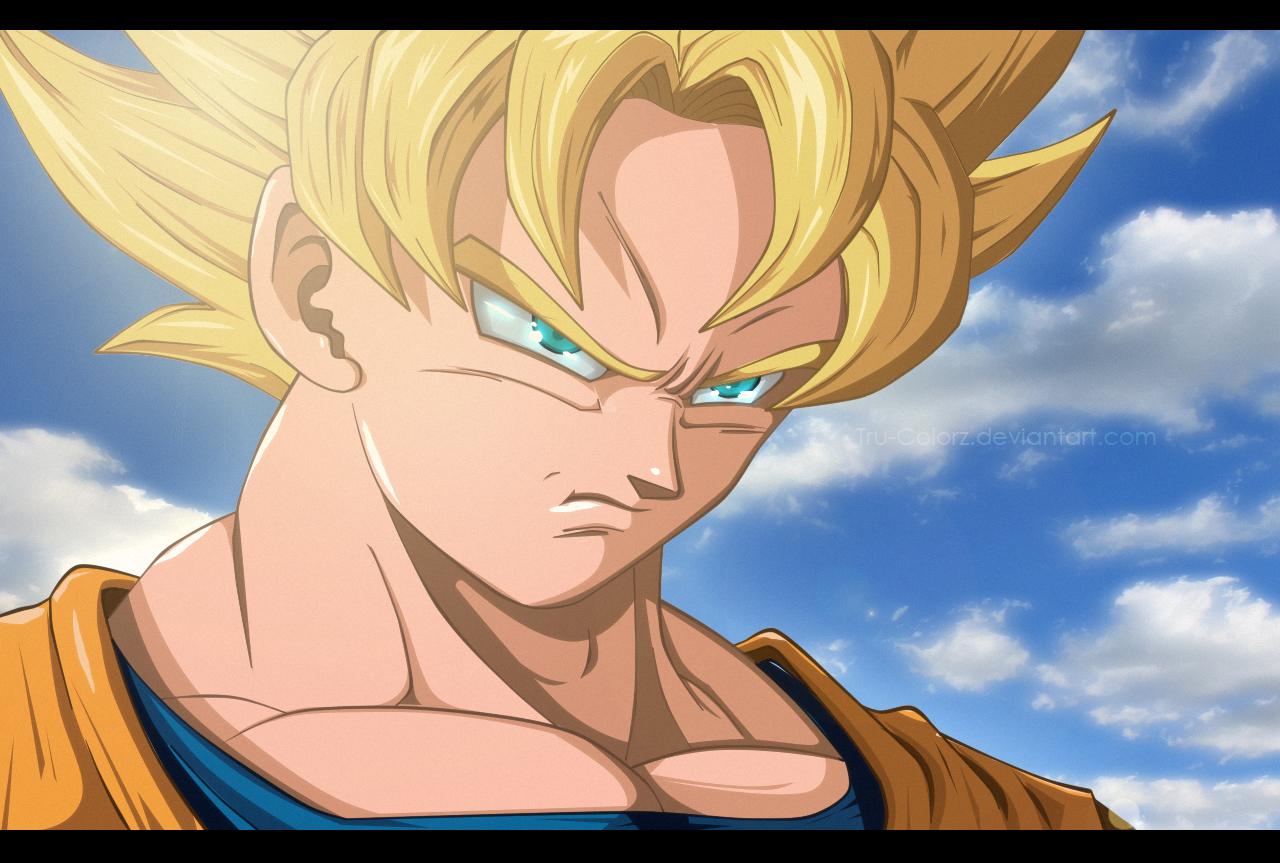 Top Wallpaper Dragon Ball Z Deviantart - super_duper_saiyan_goku_by_tru_colorz-d6dfybt  HD_169663 .png