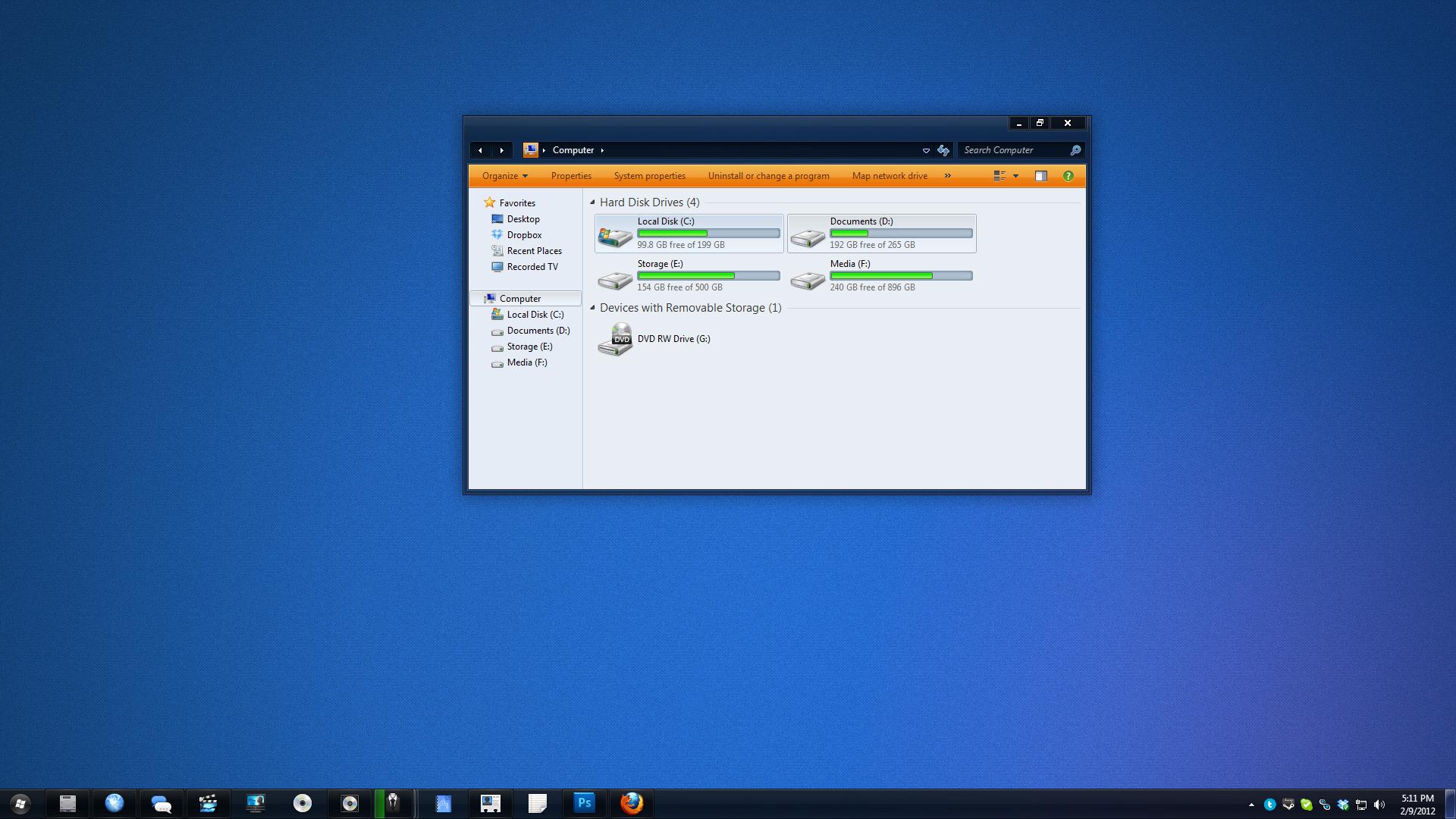 Osituro - Windows 7 VS - WIP by Renacac