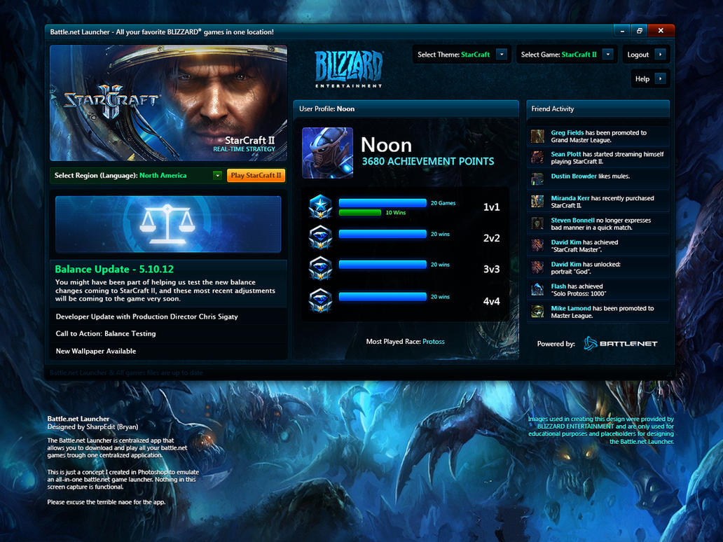 Battle.net Multi-Launcher by Renacac