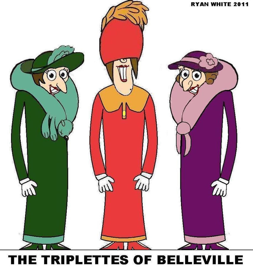 the triplets of belleville essay Commentary the ghost of dave fleischer in the opening minutes of belleville rendez-vous, the feature-length cartoon released in the us in november 2003 as the triplets of belleville, the french animator-director sylvain chômet reveals his program for the entire film, although it's not clear for a while just how sly and subtle that.