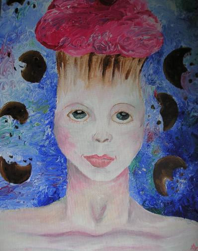 Cupcake Head by sickpea