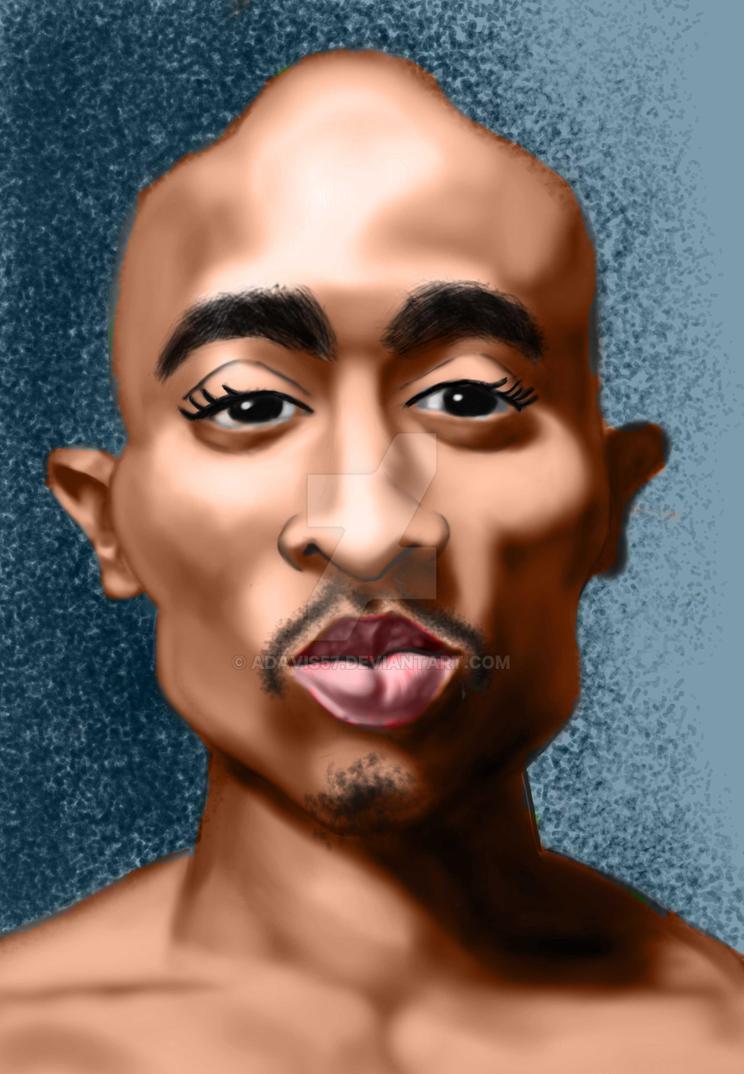 Tupac Shakur by adavis57